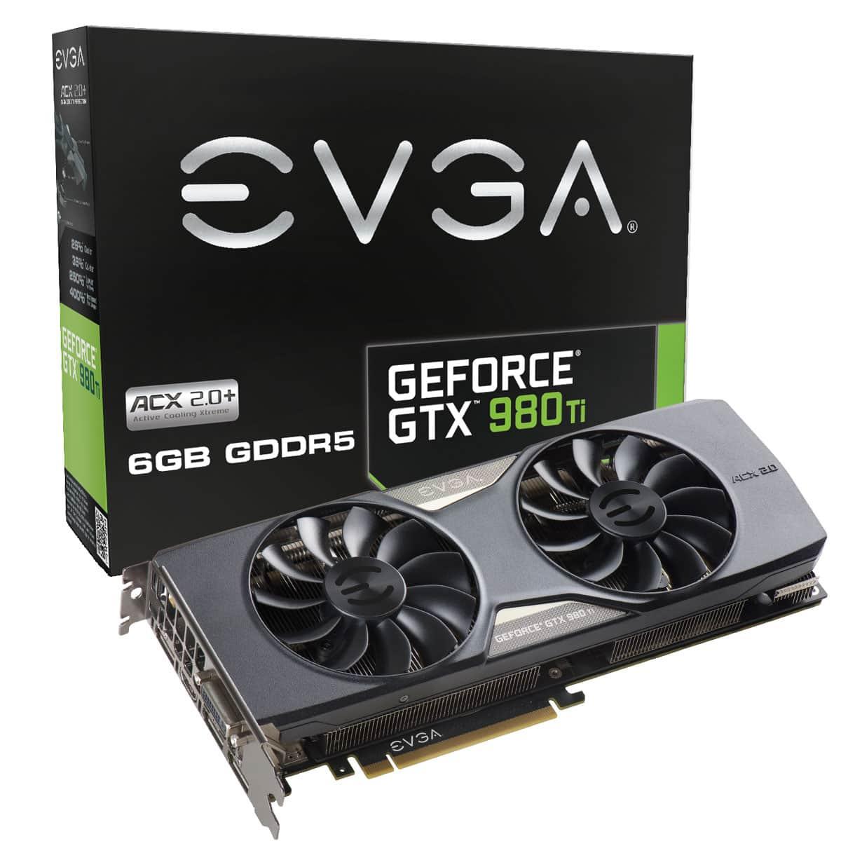 EVGA GeForce GTX 980Ti