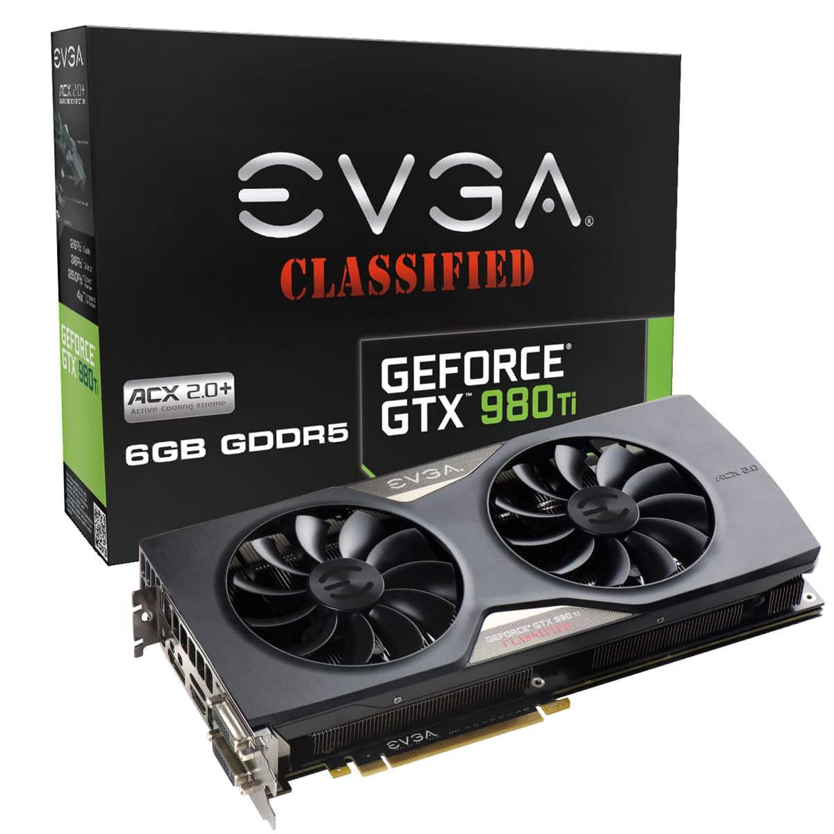 EVGA GeForce GTX 980Ti Classified