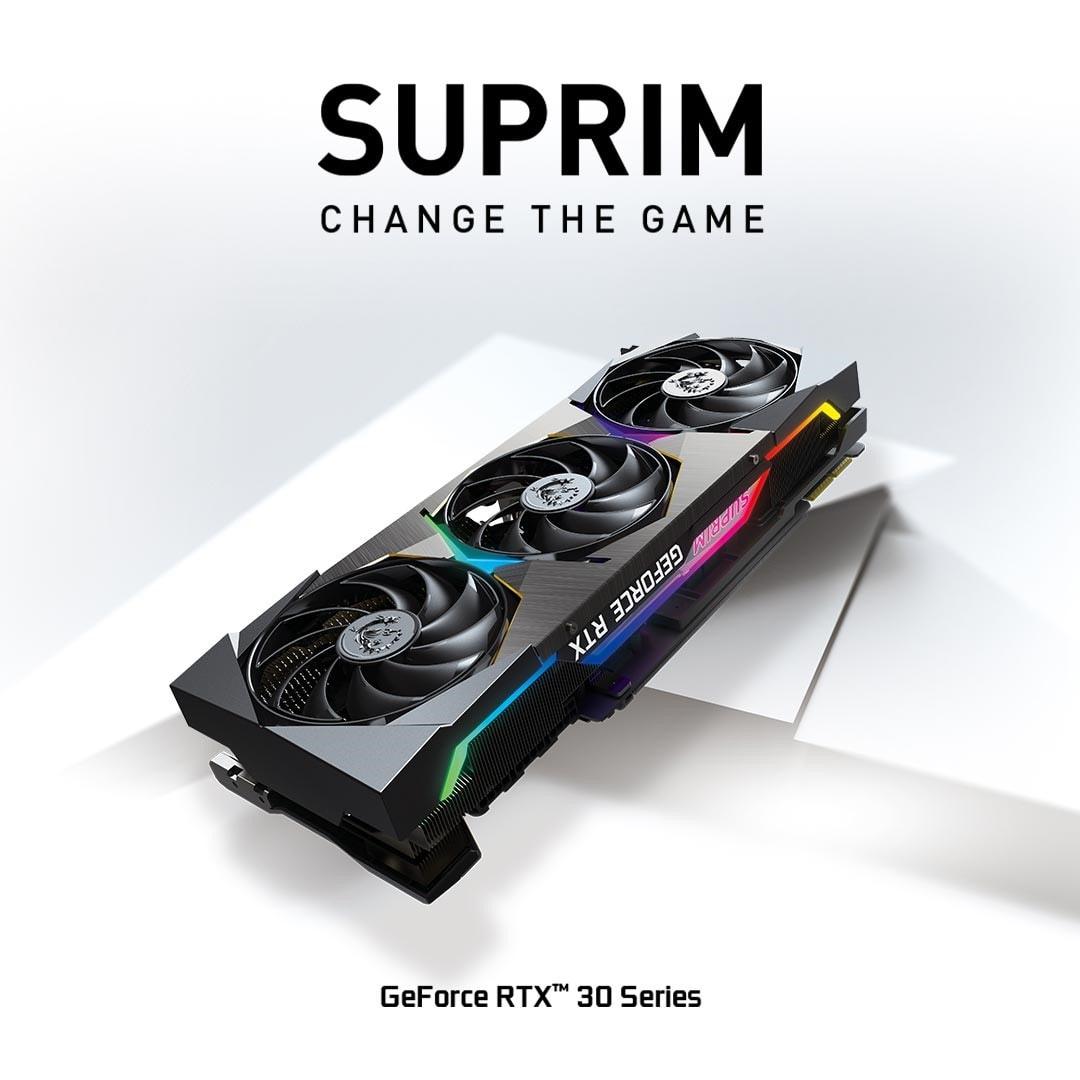 MSI presenta la serie di schede grafiche SUPRIM