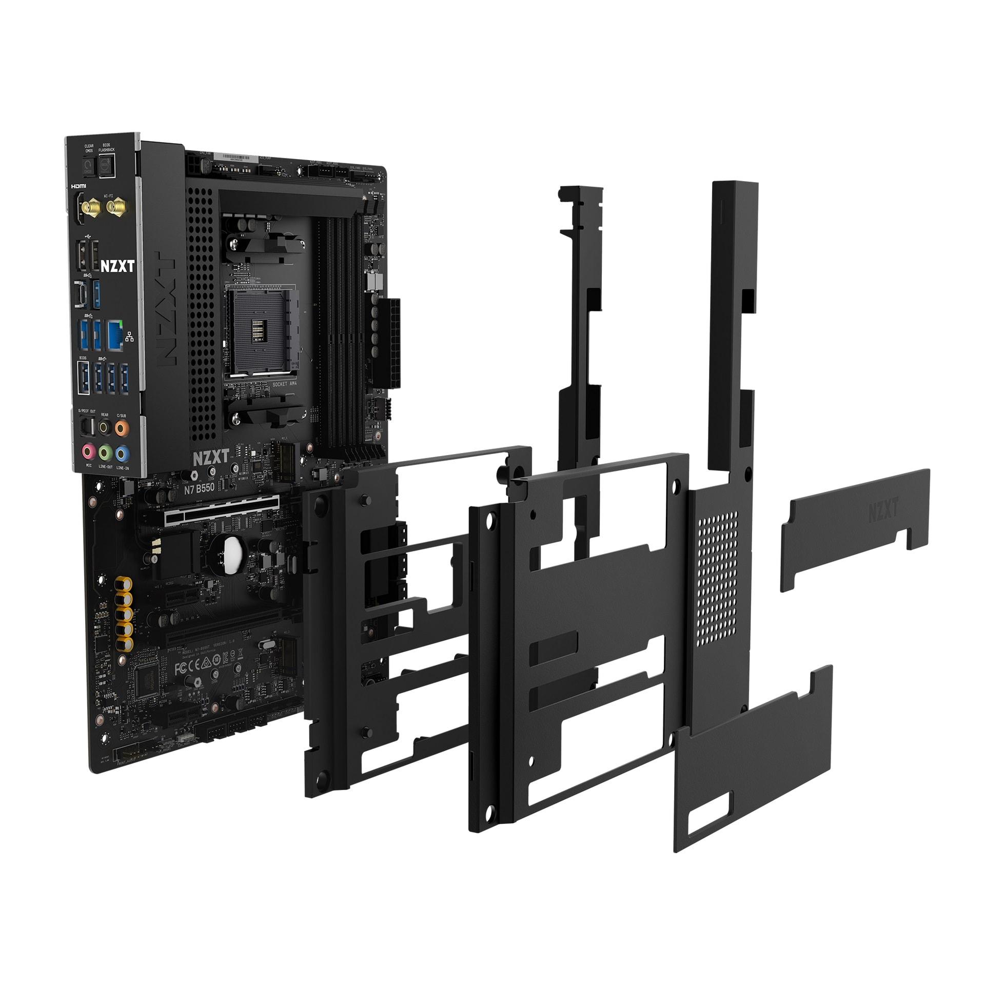 NZXT B550 AMD MAINBOARD